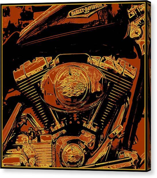 Warhol Canvas Print - Road King by Gary Grayson
