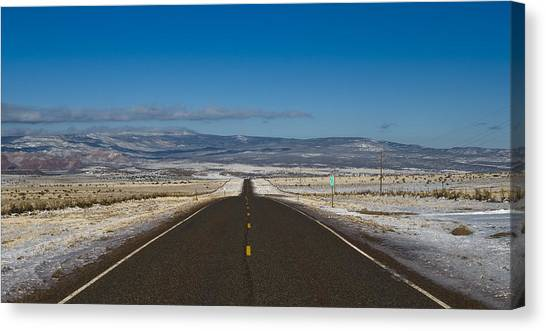 Road Nm 96 Canvas Print