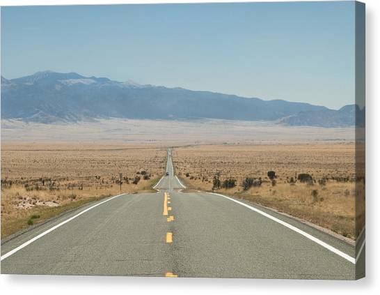 Road Nm Canvas Print