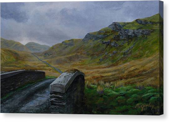 Road Over Donegal Bridge Canvas Print