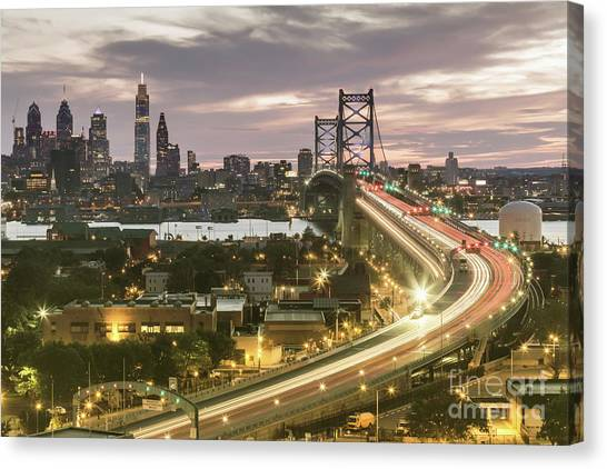 Road To Brotherly Love Canvas Print