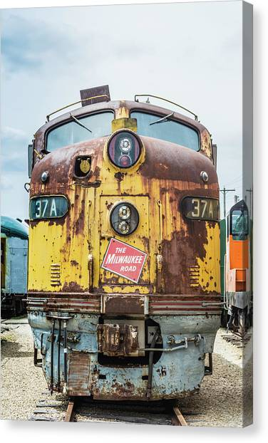 Trainspotting Canvas Print - Road To Ruin by Enzwell