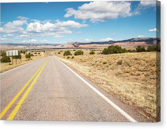 Road To San Ysidro Canvas Print