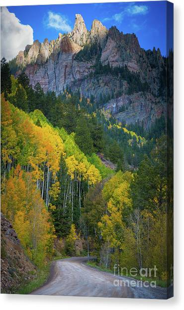 Road To Silver Mountain Canvas Print