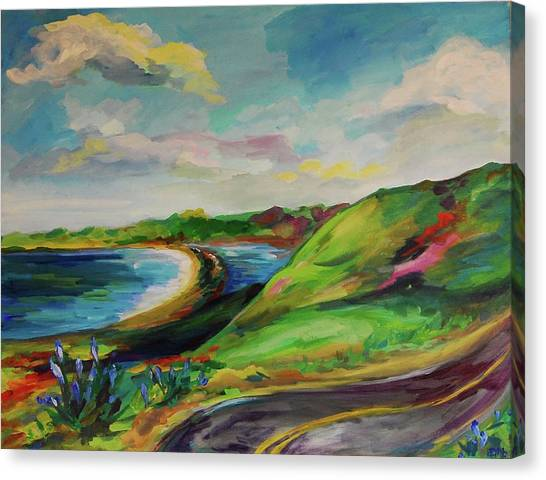 Road To Stinson Canvas Print by Danielle Hacker