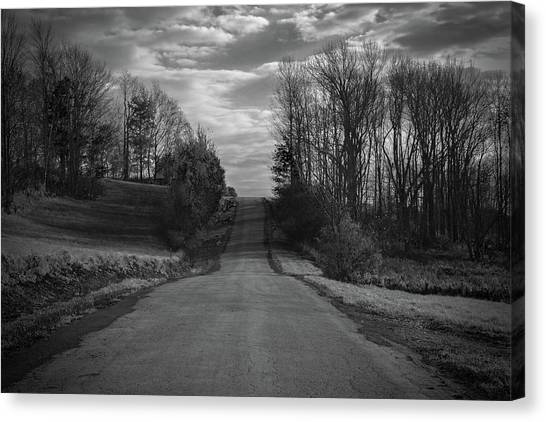 Road To Success Canvas Print