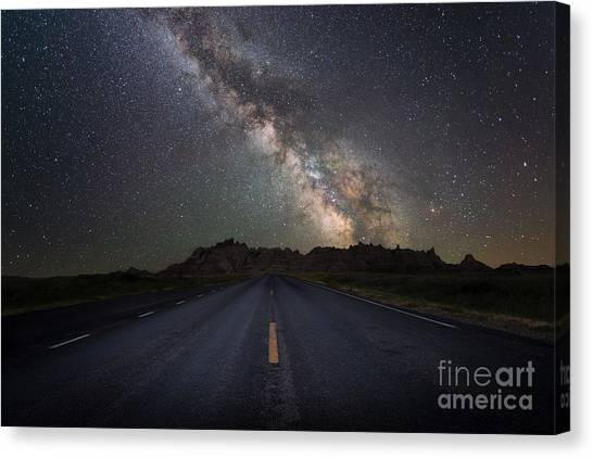 Road To The Heavens Canvas Print