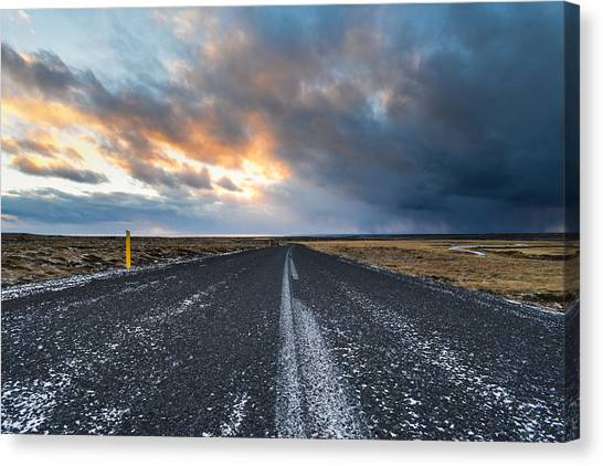 Road To The Sky Canvas Print