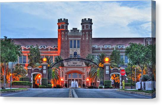 Florida State Canvas Print - Road To Westcott by Alex Owen