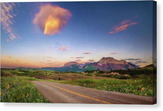 Road To Wherever Canvas Print