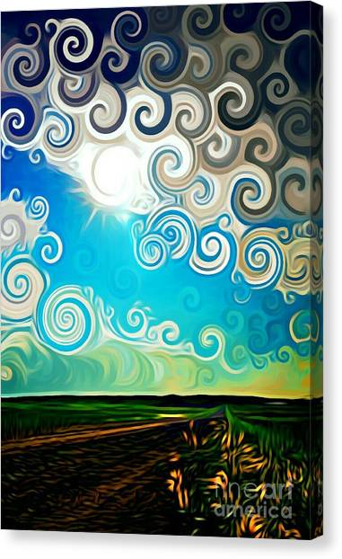 Road To Whimsy Canvas Print