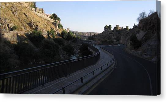 Road Towards Toledo Canvas Print