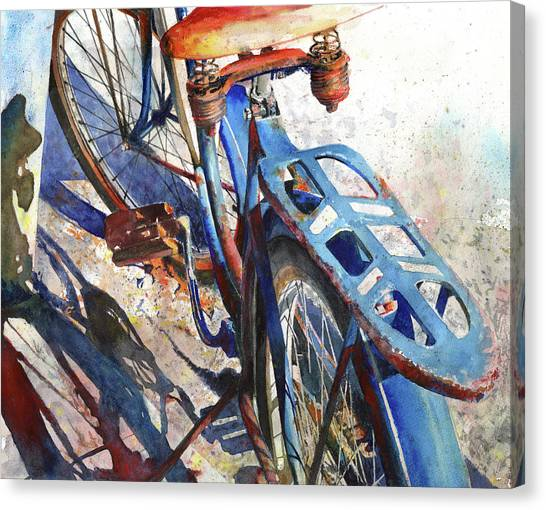 Bicycle Canvas Print - Roadmaster by Andrew King