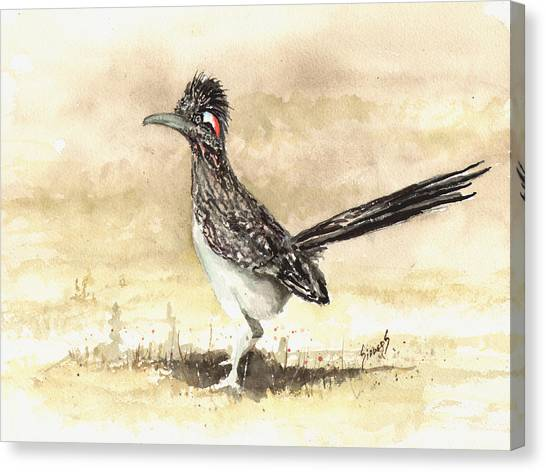 Roadrunner Canvas Print - Roadrunner by Sam Sidders