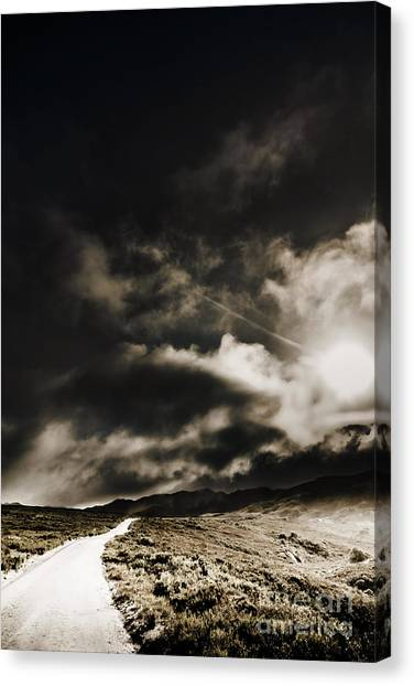Canvas Print featuring the photograph Roads Of Atmosphere  by Jorgo Photography - Wall Art Gallery