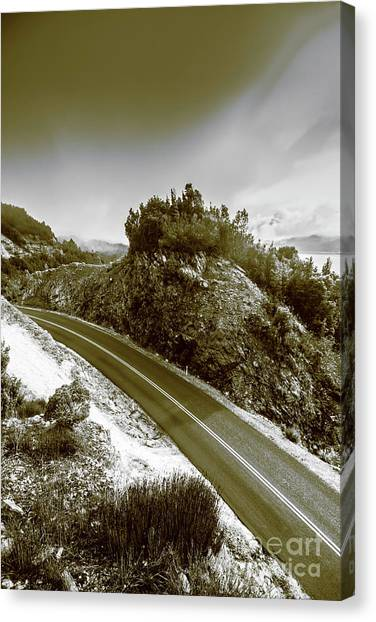Trip Canvas Print - Roads Of High Dynamic Ranges by Jorgo Photography - Wall Art Gallery