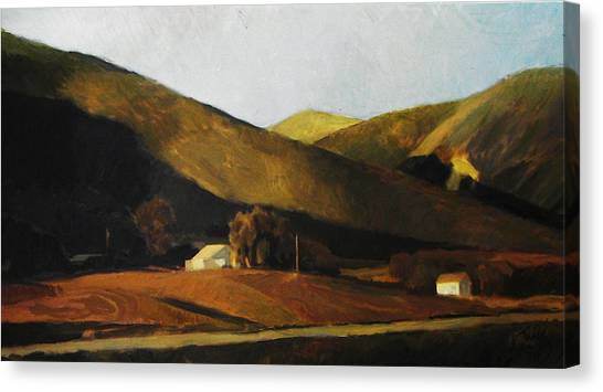 Roadside Canvas Print