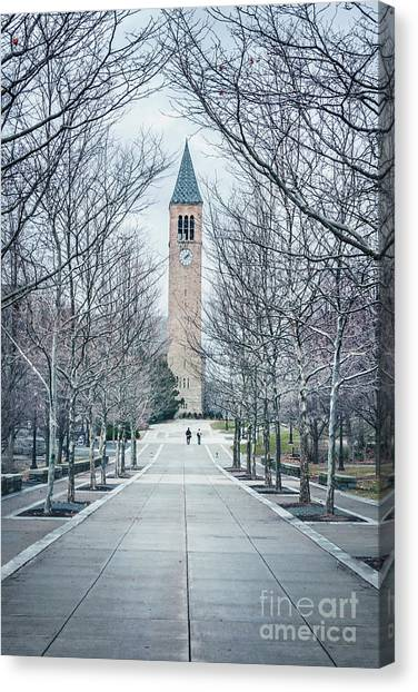 Cornell University Canvas Print - Roam by Evelina Kremsdorf