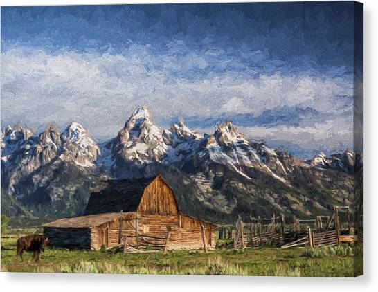 Roaming The Range II Canvas Print