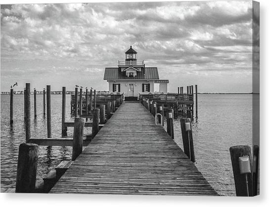 Roanoke Marshes Light Canvas Print