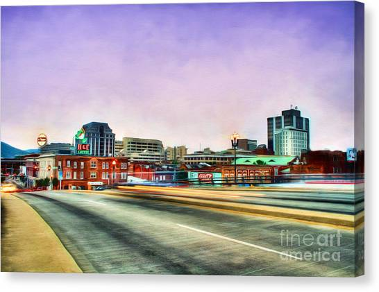 Dr. Pepper Canvas Print - Roanoke Virginia by Darren Fisher