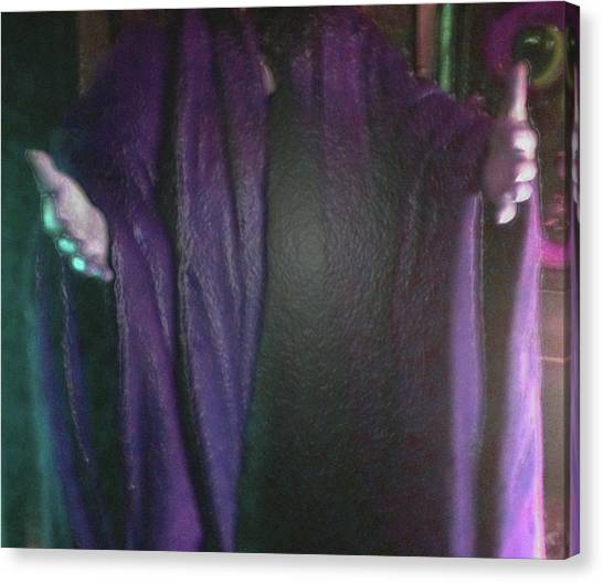 Canvas Print featuring the digital art Robed Arms by Michelle Audas