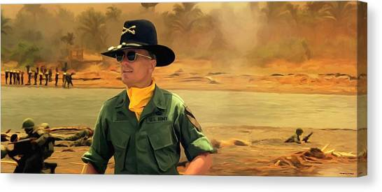 Robert Duvall @ Apocalypse Now Canvas Print