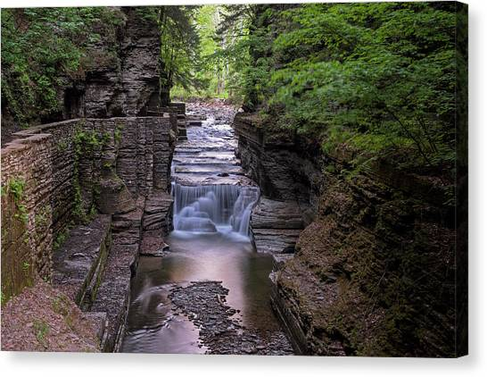 Robert H. Treman State Park Canal 2 Ithaca Ny Canvas Print