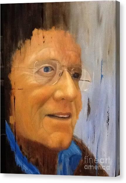 Robert Monk Self Portrait Canvas Print