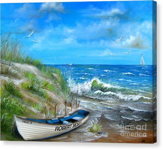 Robert Moses Beach Canvas Print