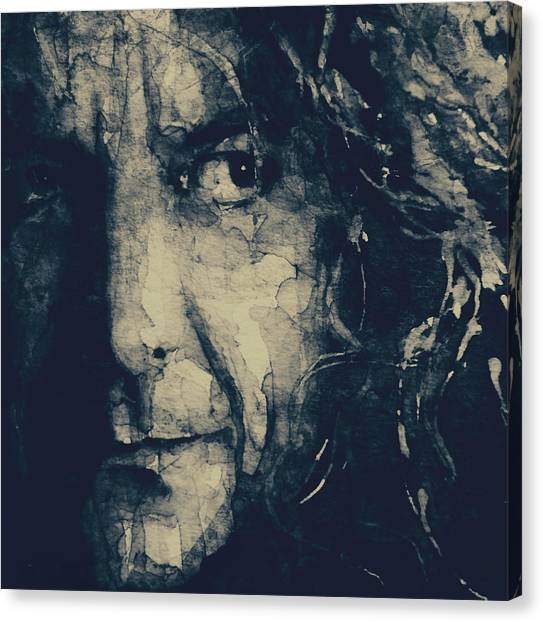 Robert Plant Canvas Print - Robert Plant - Led Zeppelin by Paul Lovering