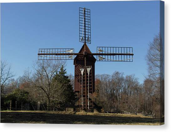 Robertsons Windmill Canvas Print