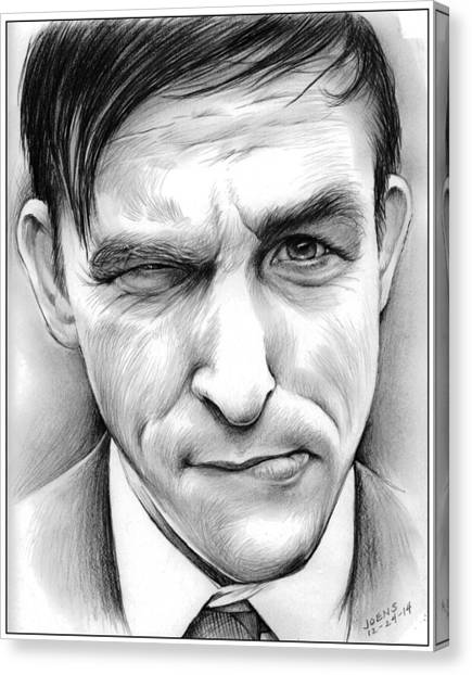 Penguins Canvas Print - Robin Lord Taylor II by Greg Joens