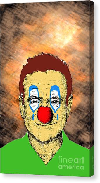 Robin Williams 1 Canvas Print