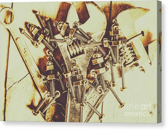 Droid Canvas Print - Robotic Repairs by Jorgo Photography - Wall Art Gallery