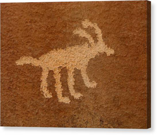 Canvas Print - Rochester Sheep Glyph by Russell Wilson