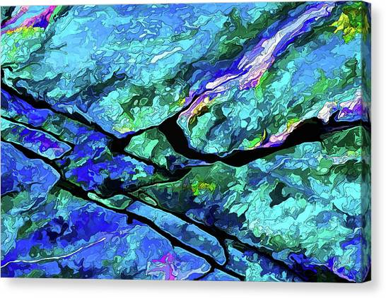 Rock Art 18 Canvas Print
