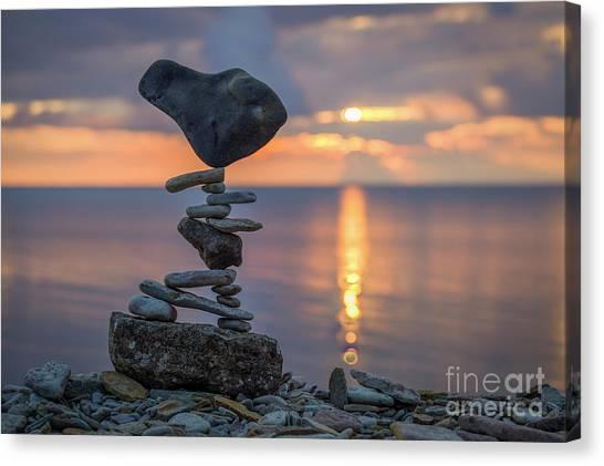 Rock Boarding Canvas Print