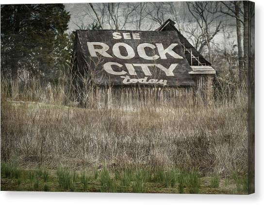 Rock City Canvas Print