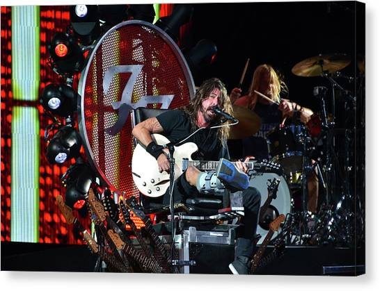 Rock Concert Canvas Print