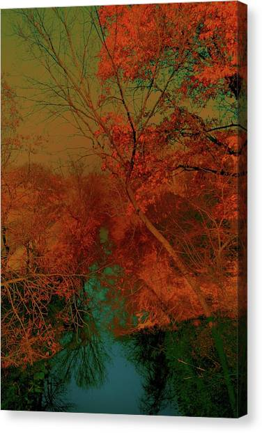 Rock Creek At M Canvas Print