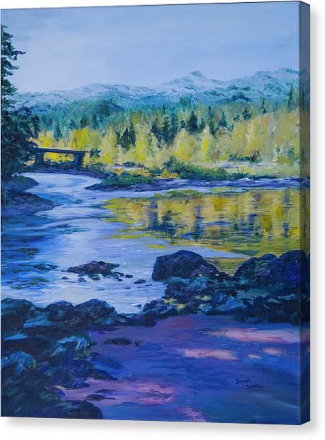 Rock Creek Fishing Hole Canvas Print