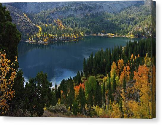 Rock Creek Lake Eastern Sierra Canvas Print