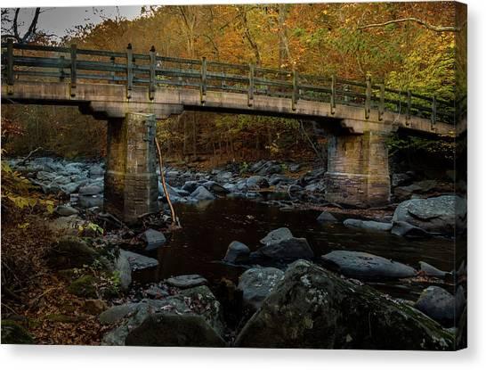 Rock Creek Park Bridge Canvas Print