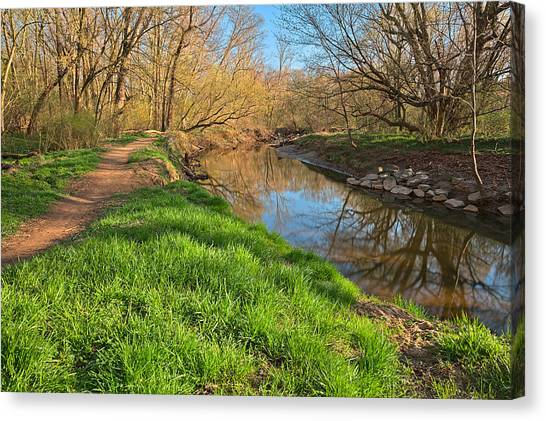 Rock Creek Spring Canvas Print