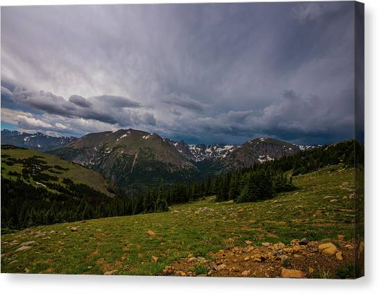 Rock Cut 3 - Trail Ridge Road Canvas Print