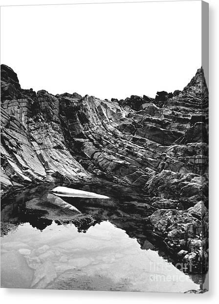 Rock - Detail Canvas Print