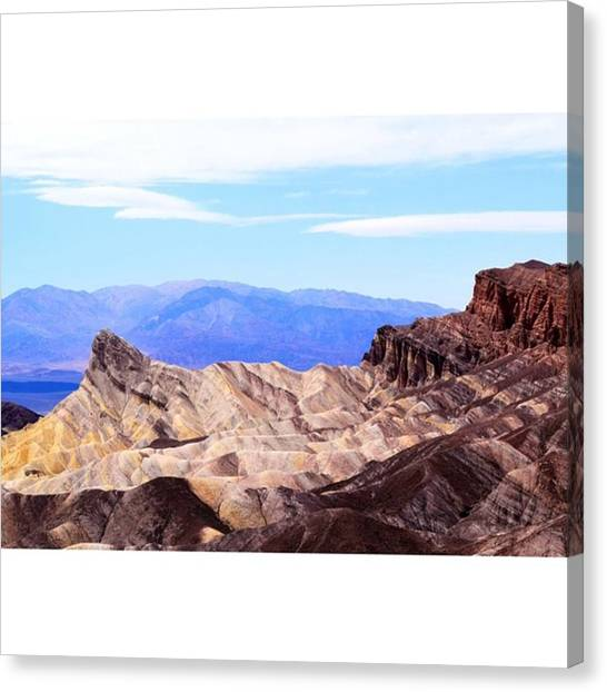 Scotty Canvas Print - Rock Faces In Death Mountain by Scotty Brown