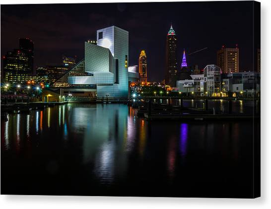 Rock Hall Reflections Canvas Print