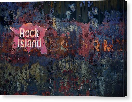 Rock Island Canvas Print